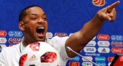 """Durante coletiva, Will Smith defende Neymar: """"Há dias bons e dias ruins"""""""