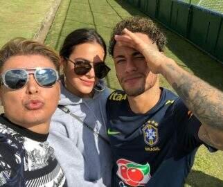 David Brazil revela como é a relação entre Neymar e Bruna Marquezine