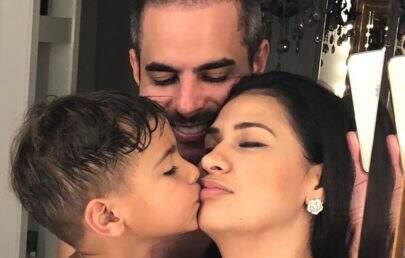 """Simone se declara para o filho em seu aniversário: """"Consegui transferir melhor que havia em mim"""""""