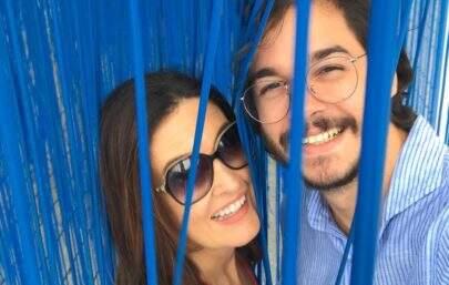 Fátima Bernardes e Túlio Gadelha trocam declarações fofas na web