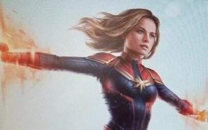 Produtos mostram o uniforme da Capitã Marvel no filme da heroína
