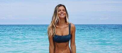 Namorada de Alexandre Pato, Danielle Knudson abre álbum de fotos de viagem às Bahamas