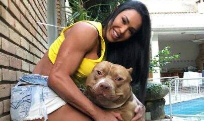 Gracyanne Barbosa confirma que seu cachorro atacou mãe de Belo