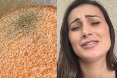 """Andressa Urach come pão mofado e faz oração para """"repreender os fungos"""""""