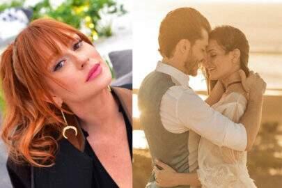 Marina Ruy Barbosa comenta em foto do casamento de seu ex com Camila Queiroz