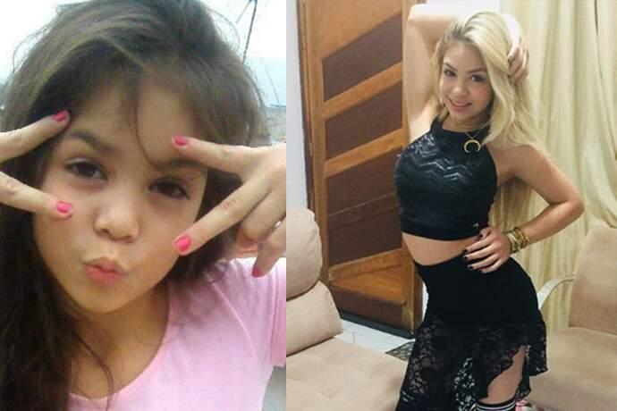 Com apenas 11 anos de idade, MC Melody se transforma e