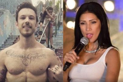 """Simaria """"dá fora"""" em apresentador do SBT ao vivo após suposta cantada"""