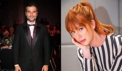 """Bruno Gagliasso e Marina Ruy Barbosa aparecem pela primeira vez como casal de """"O Sétimo Guardião'"""""""