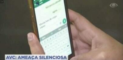 Sem perceber, Band mostra conversa picante de entrevistada no Whatsapp