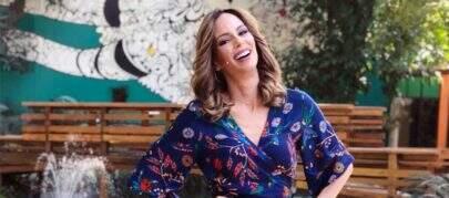 """Ana Furtado celebra retorno ao trabalho: """"Sorrisão de quem se sente em casa"""""""
