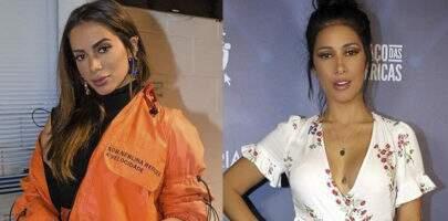 Após rumores de briga, Anitta e Simaria aparecem juntinhas em clique de amiga