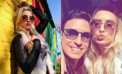 Após assumir namoro com DJ, ex-BBB Jéssica curte viagem romântica na Argentina