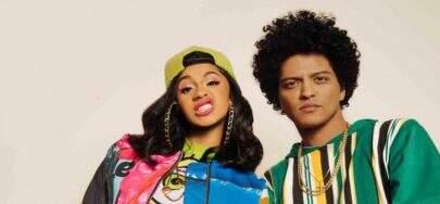 """Bruno Mars e Cardi B atingem 300 milhões de reproduções com o single """"Finesse"""""""