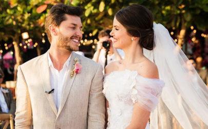 Camila Queiroz escolheu adereço de R$ 59 mil para enfeitar seu penteado de noiva