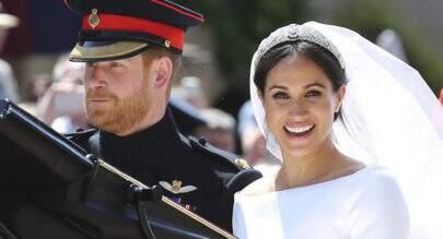 Príncipe Harry ficou encantado com um detalhe de Meghan Markle no casamento