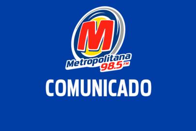 Rádio Metropolitana tem sinal afetado em São Paulo por conta de  frequência irregular