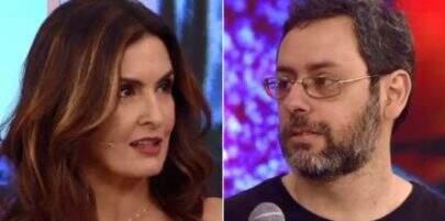 Fátima Bernardes se surpreende com convidado irônico durante o 'Encontro'