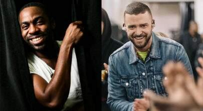 "Lázaro Ramos convida Justin Timberlake para comer acarajé: ""It will be massa, pai"""