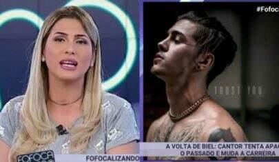 "Vaza áudio de Lívia Andrade detonando Biel no ""Fofocalizando"""