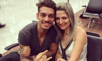 Mãe de Lucas Lucco impressiona ao mostrar 'antes e depois'