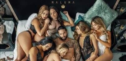 "Maluma divulga data de lançamento do single ""Mala Mía"""