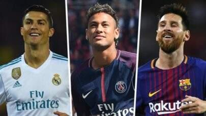 Neymar, Messi e Cristiano Ronaldo impressionam ao dar presentes luxuosos à amigos e familiares