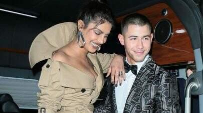 Anel de noivado que Nick Jonas deu para Priyanka custou quase R$ 1 milhão