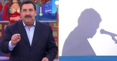 Ratinho surpreende e mostra quem é o Sombra de seu programa