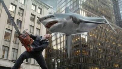 """""""Sharknado 6"""" ganha novo trailer cheio de viagens no tempo"""