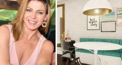 Após separação, Sheila Mello se muda para apartamento luxuoso