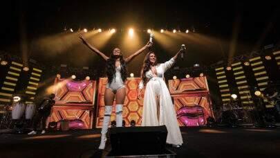 Na volta aos palcos, Simone & Simaria surpreendem e gravam DVD surpresa