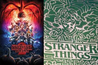 """Empresa cria labirinto em milharal inspirado em """"Stranger Things"""""""