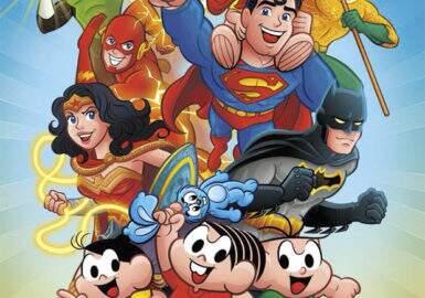 Turma da Mônica vai se juntar à Liga da Justiça em crossover incrível