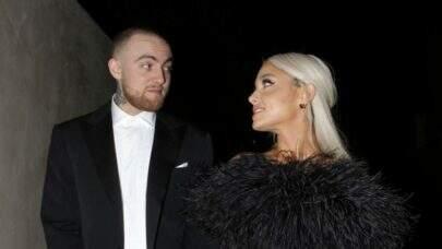"""Ariana Grande fala pela primeira vez depois da morte de Mac Miller: """"Desculpa"""""""
