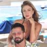 Noiva de Latino, Jéssica Rodrigues arrasa em foto de biquíni exibindo barriga chapadíssima