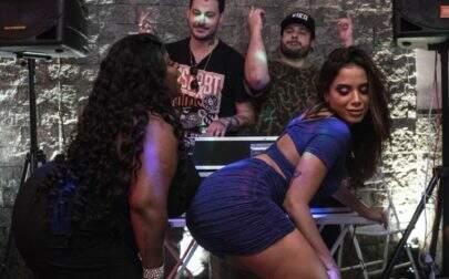 """Jojo Todynho e Anitta aparecem dançando funk e liberam trecho do novo single """"Perdendo a Mão"""""""