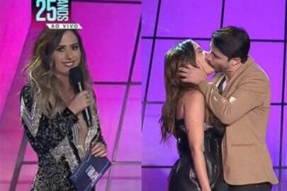 Tatá Werneck zoa beijo de Anitta ao vivo e cantora responde