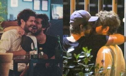 Ex de Marquezine, Mauricio Destri é flagrado beijando Gil Coelho e se pronuncia