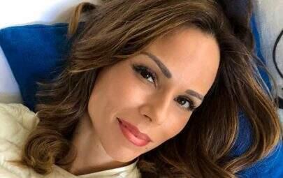 Ana Furtado corta o cabelo na reta final do tratamento contra o câncer