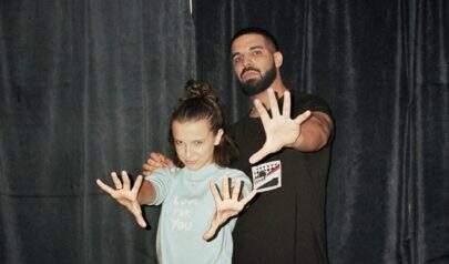 Millie Bobby Brown surpreende ao falar sobre sua amizade com Drake