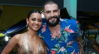 Gleici Damasceno e Wagner Santiago são apresentados como destaque de escola de samba do Rio