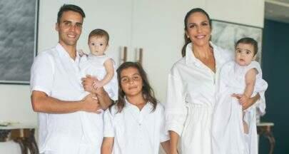 """Ivete Sangalo batiza as filhas gêmeas em Salvador: """"Dia mais especial"""""""