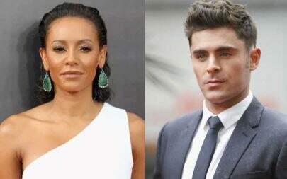 Zac Efron e Mel B tiveram noite de amor após da separação da ex-Spice Girl, afirma site