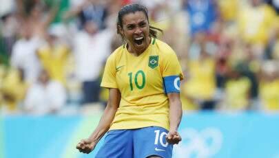 Pela sexta vez, Marta é eleita a melhor jogadora do mundo da FIFA