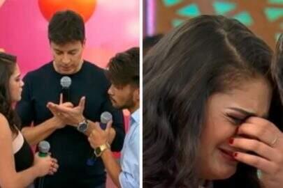 Mulher não aceita voltar com ex em quadro de Rodrigo Faro e gera discussão