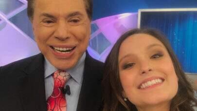 """Silvio Santos faz comentário polêmico sobre namorado de Larissa Manoela: """"Ator troca muito de mulher"""""""