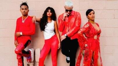 "DJ Snake divulga trecho de ""Taki Taki"", single em parceria com Selena Gomez, Ozuna e Cardi B"