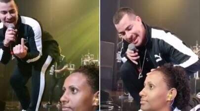 Internautas acusam Thiago Martins de assediar segurança durante show do Sorriso Maroto