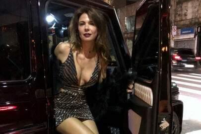 Solteira, Luciana Gimenez divulga foto nua no Instagram