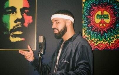 Com presença de Anitta, Drake faz festão de aniversário com tema anos 2000